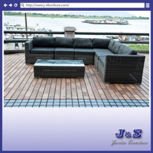 Promotion! Outdoor Garden Furniture, Patio Rattan Sofa Set (J240) pictures & photos