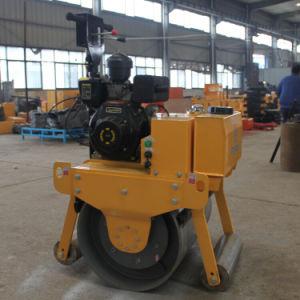 Single Drum Walk Behind Diesel Engine Vibratory Roller (FYL-600C) pictures & photos
