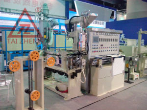PVC Wire Extruder Production Line pictures & photos