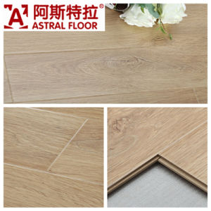 German Technical Mirror Surface (u-groove) Laminate Flooring (AD303) pictures & photos