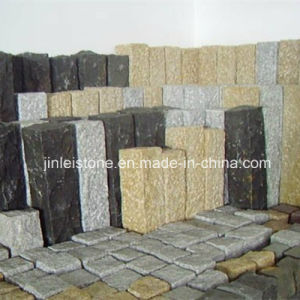 Granite Stone Garden Fence with Rough Picked pictures & photos