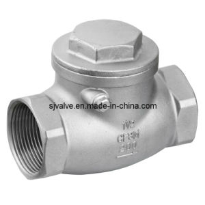 15mm Ss 201 Swing Check Valve pictures & photos