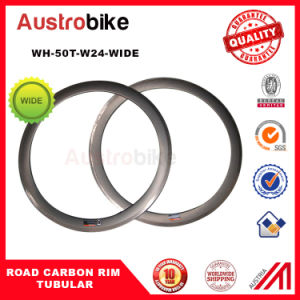 700c Carbon Road Bike Rim Tubular 50t 23width Super Light Weight Wtd Rim pictures & photos