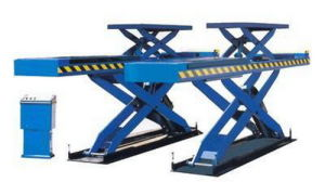 Dsla609 Double-Level Platform Scissor Lift Used for Alignment pictures & photos