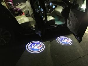 LED Car Light Welcome Door Logo Light Can Make All Logo pictures & photos