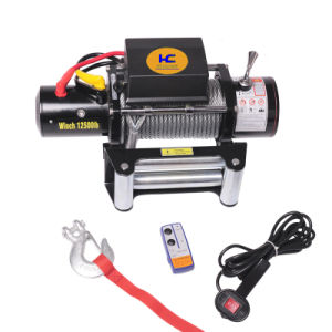 Power Electric Winch CE Approved 12500LBS (SC12.5) pictures & photos