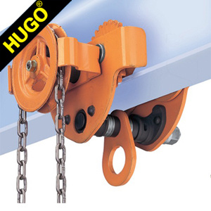High Quality Hand Gear Trolley with Drop Stop pictures & photos