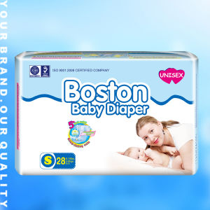 Breathable Magic Tape Baby Diapers (JHS001) pictures & photos