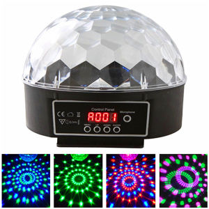 Hot Party Light LED Crystal Magic Disco Ball Light with USB pictures & photos