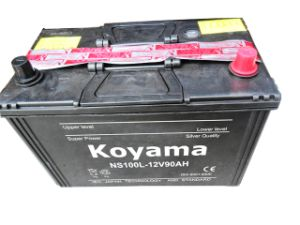 Dry Charge Car Battery (NS100-12V90AH) pictures & photos