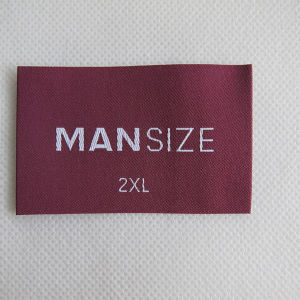 Custom Various Woven Clothing Size Label pictures & photos