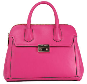 2016 Best Selling Women Genuine Leather Tote Handbag (CG9041) pictures & photos
