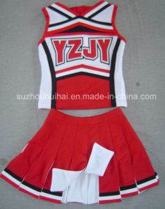 2016 Cheerleading Uniforms: Shell Top and Skirt pictures & photos
