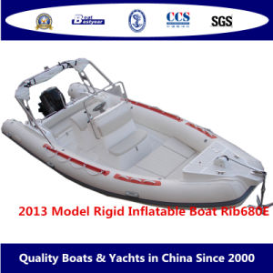 2013 Model Rigid Inflatable Boat-Rib680e pictures & photos