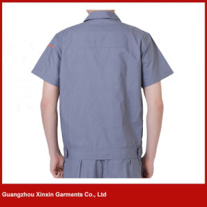 Custom Made Short Sleeve Working Clothes for Summer (W223) pictures & photos