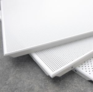 Acoustic Metal Ceiling/ Aluminum Ceiling Panel, 600X600mm