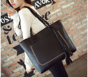 2016 New Style PU Leather Women Bags Handbags with Dumpling Shape pictures & photos