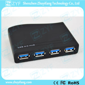 Wave Shape 4 Port USB 3.0 Hub (ZYF4125)