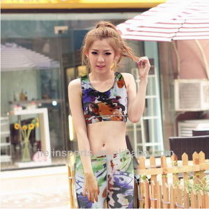 OEM Hot Sale Sublimated Sports Bra for Women pictures & photos