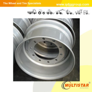Tube Truck Steel Wheel Rim (8.5-24, 20-8.0, 20-7.50V, 20-7.00T) pictures & photos