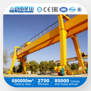 High Quality Double Beam Gantry Crane pictures & photos