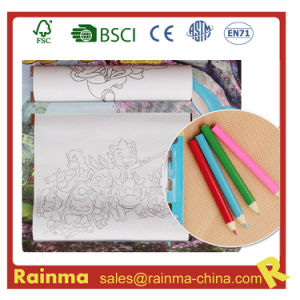 "Kids Drawing Roller Paper Set with 3.5""Color Pencil pictures & photos"