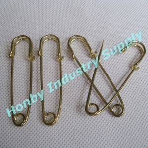 63mm Gold Steel Horse Blanket Pin
