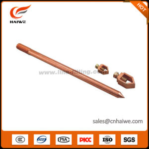 Copper Clad Steel Ground Rod Earth Rod for Pole Line Hardware pictures & photos