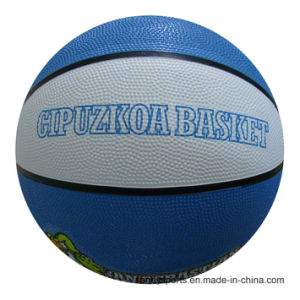 Hot Selling OEM Logo Rubber Basketball pictures & photos