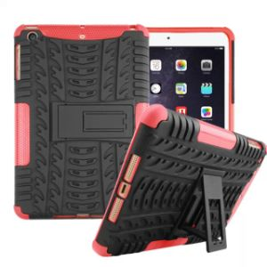 Silicone Plastic Hybird Armor Combo Tablet Case for iPad Mini2