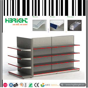 Pegboard Punched Hole Shelves for Supermarket pictures & photos