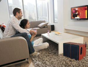 50W Whole Wooden 2.4GHz Hifi Wireless Bookshelf Speaker pictures & photos