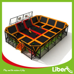 Professional Manufacturer Large Indoor Rectangular Trampoline Park pictures & photos