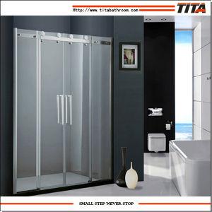 Luxury Frameless Shower Door T-19p pictures & photos