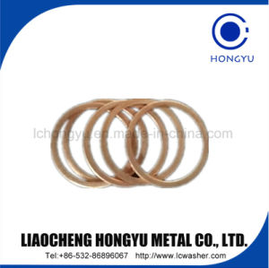 Flat Copper Washer Phosphor Bronze Washer pictures & photos