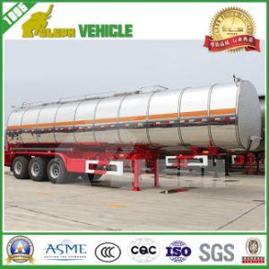 Three Axles Fuel Aluminum Tanker Truck
