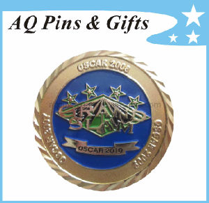 Challenge Coin with Diamond Cut Edge pictures & photos