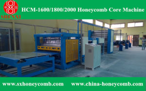 Hcm-2000 Automatic Honeycomb Core Making Machine pictures & photos