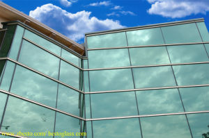 8mm 10mm 12mm Commercial Buildings Reflective Tempered Glass Curtain Wall