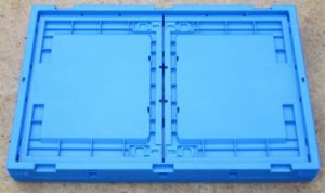Large Capacity Plastic Stackable Storage Boxes & Bins Type Crates for Packaging Usage pictures & photos