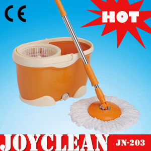 Joyclean 360 Walkable Mop with Stainless Steel Basket (JN-203) pictures & photos