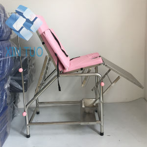Economic Mulit-Postion Clinic Flat Bed / Examination Table with Backrest pictures & photos