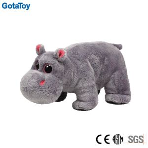 Custom Plush Baby Hippo Stuffed Toy Soft Toy pictures & photos