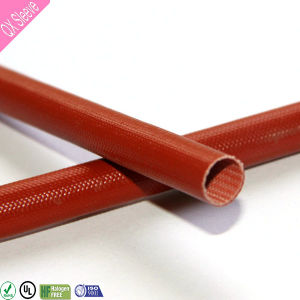 Silicone Fiberglass Flexible Insulating Braided Hollow Tube pictures & photos