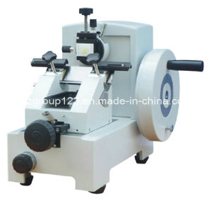 Easy-Operate Manual Rotary Microtome in Laboratory, Hospital pictures & photos