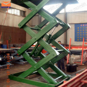 Warehouse Cargo Scissor Lift with CE Cert pictures & photos