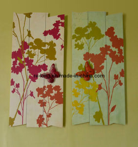 Spring Painting Wooden Plaque (RM0015-0838AB)