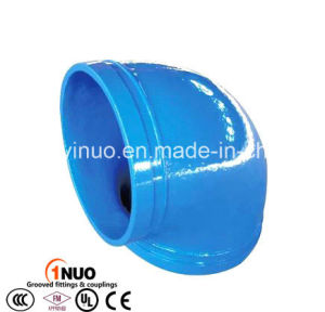 FM/UL/Ce Cast Iron Grooved 90 Degree Elbow for Water Treatment pictures & photos