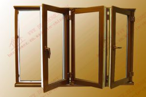 High Quality Aluminum Bi-Folding Window (BHA-FW01) pictures & photos