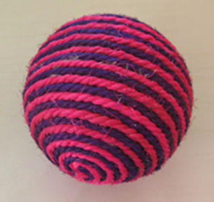 Little Doll Sisal Ball, Pet Toys pictures & photos